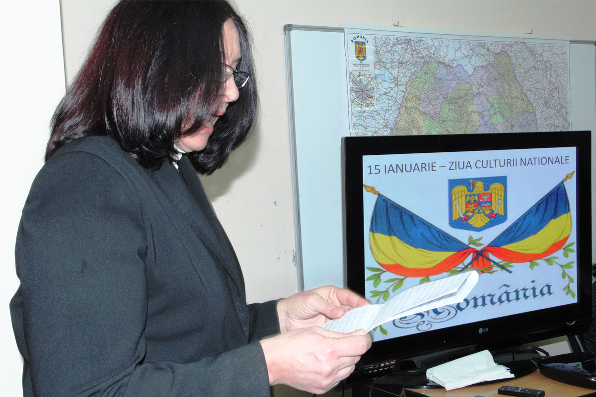 Romanian Culture Day, January 17th, 2014