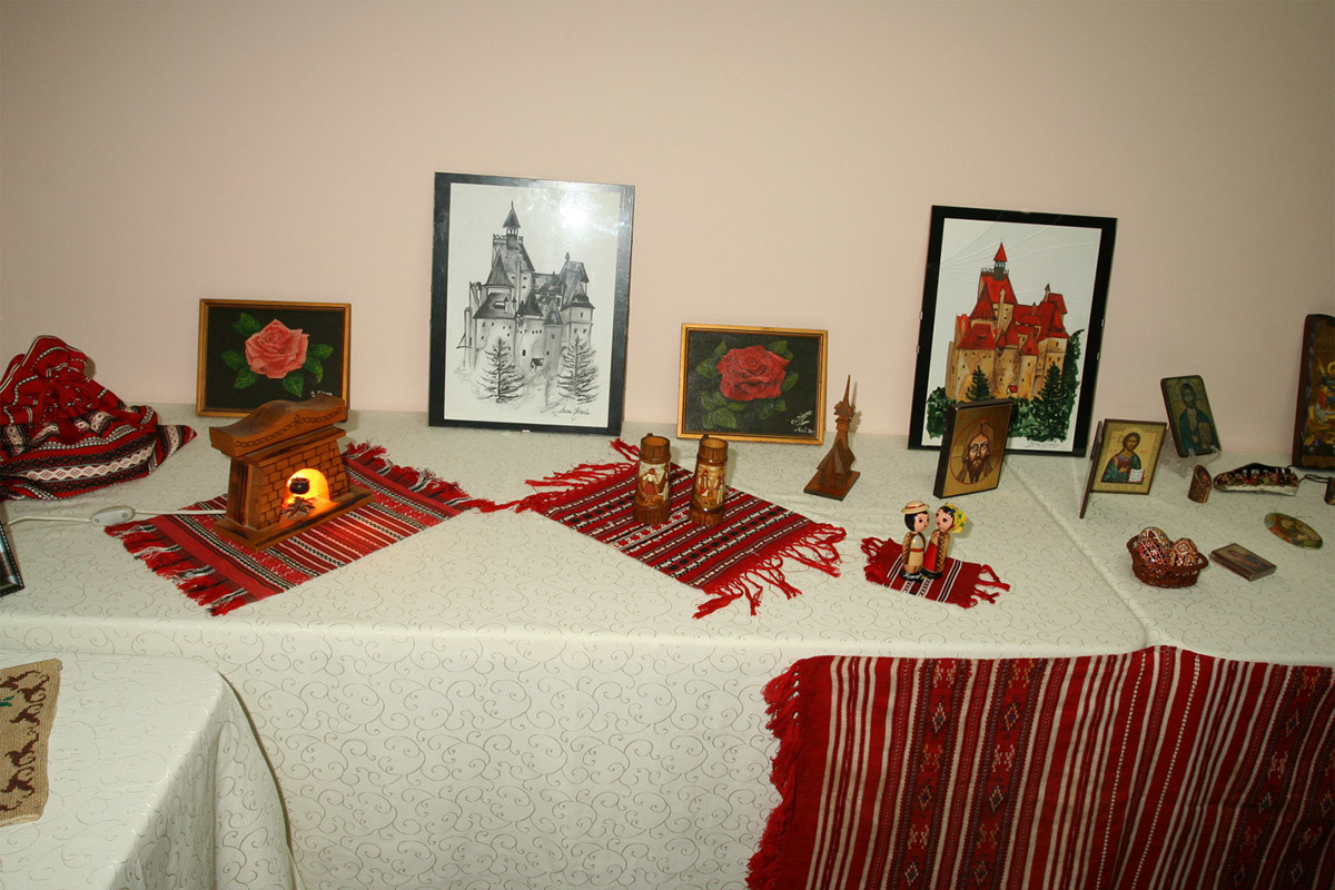 Romanian Exibition at YWCA, May 8th, 2013